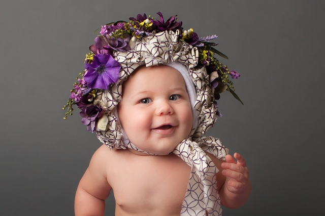 child portraits, child photography, children photography, floral bonnet, whipoorwill bonnet, New Jersey Photographer, Frenchtown New Jersey Photographer, Budding Roses Photography
