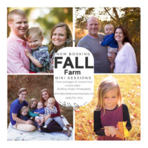 Fall Family Farm Mini Session NJ
